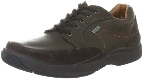 Clarks Stream Jet GTX Shoes Mens - Brown (10 UK)