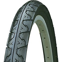 Kenda Big City Slick Wire Bead Bicycle Tire, Blackwall, 26 x 1.95