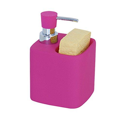 msv-110455-porta-detersivo-e-spugnetta-per-lavare-i-piatti-in-ceramica-e-plastica-cromato-15-x-12-x-