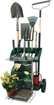 Garden Carts Vertex Deluxe Mobile Garden Tool Cart Organizer