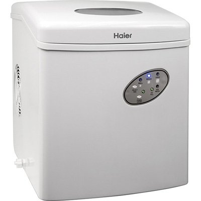 ... portable countertop ice maker-Haier HPIM26W Portable Countertop Ice