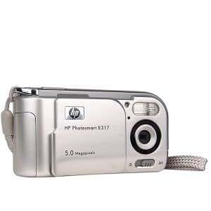HP Hewlett Packard Photosmart E317 5MP 4x Digital Zoom Camera