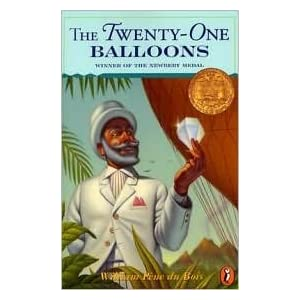 The Twenty-One Balloons by William Pene du Bois, William Pene Du Bois (Illustrator)