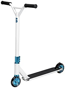 Scooters Spectrum Pro Scooter Complete, white/blue: Sports & Outdoors