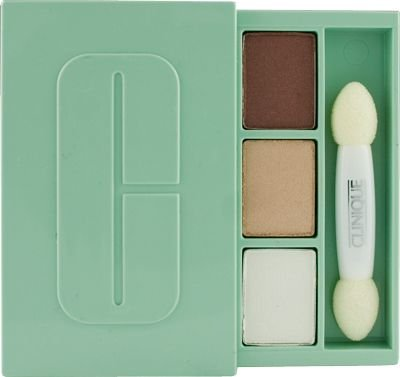 Best Cheap Deal for Clinique High Impact Eye Shadow Trio Sugar Sugar/South Beach/Shameless (Deluxe Sample) by Clinique - Free 2 Day Shipping Available