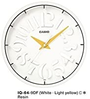 Casio Reloj De Pared Iq-64-9D por Casio