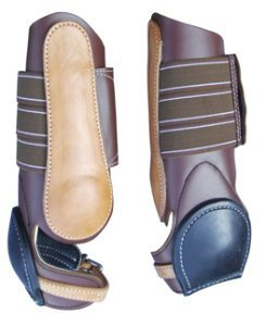 turn-two-equine-western-leather-skid-boot-light-oil-horse