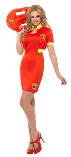 Baywatch Beach Women's Lifeguard Costume Dress Adult