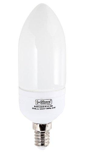 E14 LED Leuchtmittel Kerze (kaltweiß, einzeln)