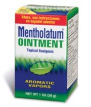 Mentholated Ointment, Topical Analgesic Rub,