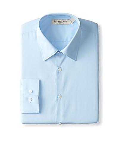 Burberry Men's Modern Fit Poplin Dress Shirt
