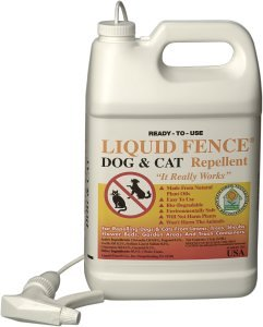 Liquid Fence 130 Dog and Cat Repellent, 1-Gallon Ready to Use