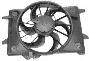 ACM Engine Electric Cooling Auxiliary Aux Fan Motor Assembly new for Mercedes