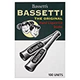Bassetti Hard Liquorice Sticks (box of 75)