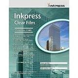 Inkpress Clear Film 5 mil. Polyester Inkjet Film, 8.5 inch x 11 inch, 5 She ....