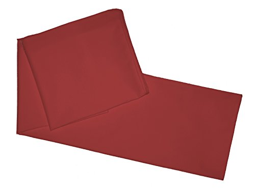Buy Cheap Multiple Colors - Body Pillowcase / Cover - Zipper End 21x 55 (Burgundy)