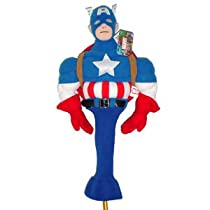 Cartoon Golf Headcover Capt America