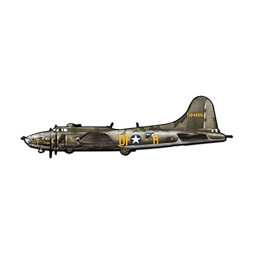B17 Flying Fortress Vintage Metal Sign 42 X 13 Steel Not Tin