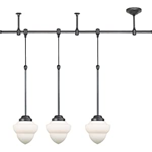 lighting rptrk5216 101 hayden collection three light pendant track