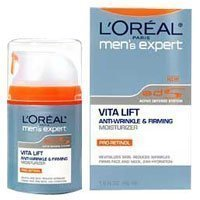 Cheapest L'Oreal Paris Men's Expert Vita Lift Anti-Wrinkle and Firming Moisturizer, SPF 15, 1.6 Ounce from L'Oreal Paris Skin Care - Free Shipping Available