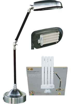Executive Sunlight Desk Lamp Full Spectrum Sun Light