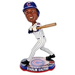 MLB Chicago Cubs Starlin Castro Player Bobblehead by Forever Collectibles