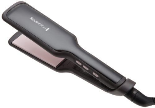 Remington S9520 Salon Collection Ceramic Hair Straightener with Pearl Infused Wide Plates, 2 Inch
