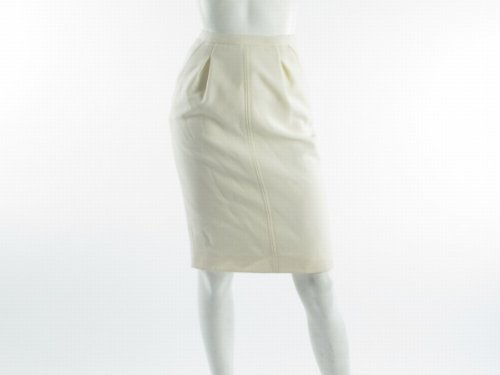D&g F4925t_fu2co_w0111 Straight White Woman Skirts Women - Italian Size 38