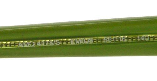 Alexander McQueenA. McQueen 4178/S Sunglasses-0EM0 Violet Green (J8 Mauve Gradient Lens)-59mm