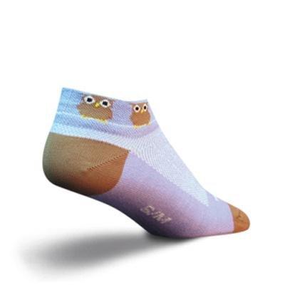 Buy Low Price SockGuy Women's 1in Owl Cycling/Running Socks (B004SVJBN4)