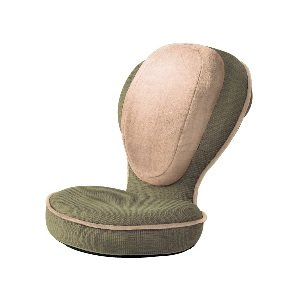 PROIDEA(プロイデア) 背筋がGUUUN 美姿勢座椅子 エグゼボート モスグリーン