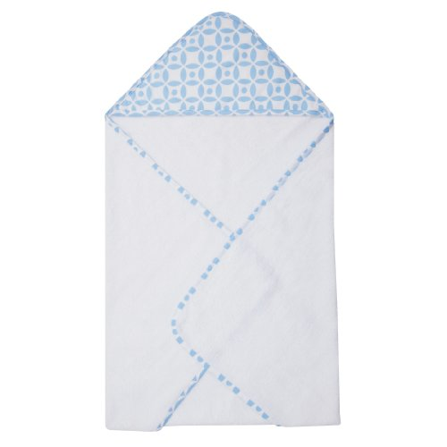 Trend Lab Logan Hooded Towel, Blue - 1