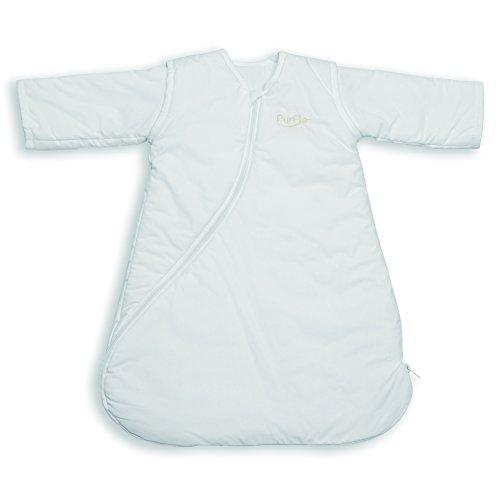 Sacco nanna 9-18 mesi 2.5 tog bianco con maniche removibili