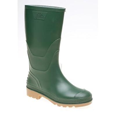 Stormwells junior wellingtons green