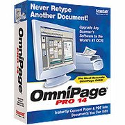 SCANSOFT OMNIPAGE PRO 14 UPGRADE