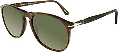Persol 9649S 24/31 Tortoise 9649S Aviator Sunglasses Lens Category 3 Lens Mirro