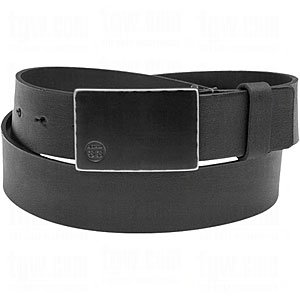 Ashworth Mens Etched Buckle/Metal Tab Leather Belts