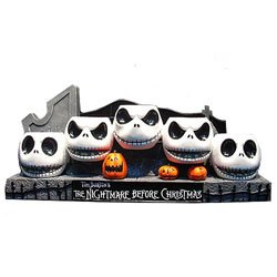 Neca Nightmare Before Christmas  inches Jack Heads inches  Resin Votive Holder