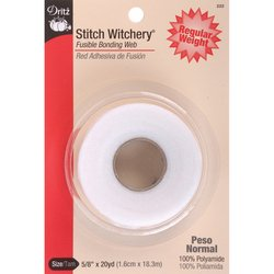 Buy Dritz 222 5/8-Inch by 20-Yard Stitch Witchery, Regular