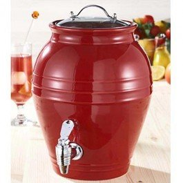 American Atlier Honey Pot Cherry Drop Beverage Dispenser front-508277
