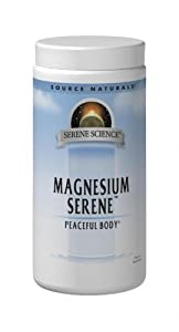 Source Naturals Magnesium Serene, Tangerine and Fruit Flavor, 9 Ounce