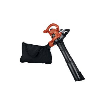 Factory-Reconditioned Black & Decker Bv5600R 12 Amp High Performance Two Speed Handheld Electric Mulcher Blower Vac
