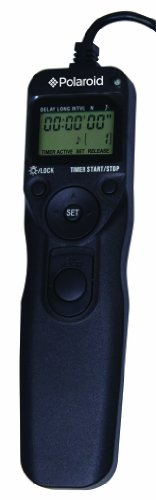 Polaroid PLRTC18 Replacement Shutter Release Timer Remote Control for Select Canon Digital SLR Cameras (Digital Timer Remote Canon compare prices)