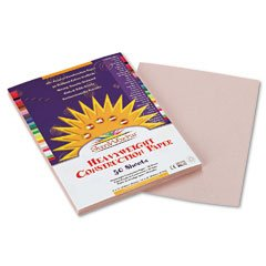 Pacon SunWorks 8803 Construction Paper, 58 lbs., 9 x 12, Gray, 50 Sheets/Pack (PAC8803)