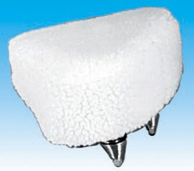 Imitation Sheepskin Padded Bicycle Seat Cover