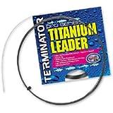 Terminator Titanium Single Strand Leader (70-Pounds, 30-Feet)