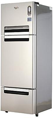 Whirlpool Fp 313D Protton Roy Multi-door Refrigerator (300 Ltrs, Alpha Steel)
