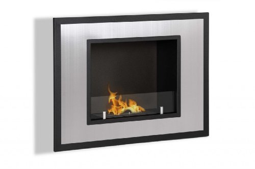 Ventless Ethanol Fireplace - Bellezza Mini, Recessed Ethanol Fireplace By Ignis