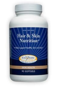 Hair & Skin Nutrition Enzymatic Therapy Inc. 90 Softgel