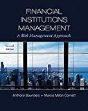 img - for Financial Institutions Management- A Risk Management Approach (7th, 11) by Saunders, Anthony - Cornett, Marcia [Hardcover (2010)] book / textbook / text book